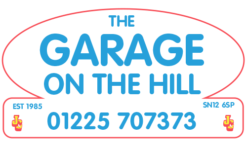 Garage on the hill